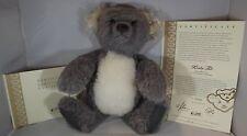 """STEIFF 16"""" KOALA TED TEDDY BEAR ALPACA MOHAIR LTD. ED. WITH CERTIFICATE"""