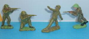 Britains Herald Soldiers - trumpeter stamp