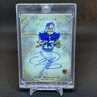 ODELL BECKHAM 2014 TOPPS FIVE STAR ROOKIE RC ON CARD AUTO