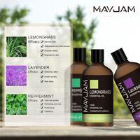 100ml 100% Pure Natural Essential Oils Therapeutic Grade Aromatherapy Oil MAYJAM
