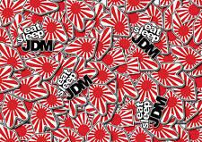 X4 Jdm Bandera pegatina bombardeo Hojas A4 Adhesivo Bomba calcomanía Vw Dub euro drift Style