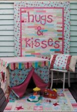 DIY Sewing pattern - Hugs & Kisses Cubby House Table Tent, Quilt, Pillow Case