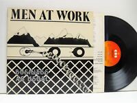 MEN AT WORK business as usual LP EX-/VG+, 85423, vinyl, album, with lyric inner