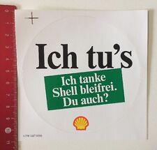 Aufkleber/Sticker: Ich Tu's - Ich Tanke Shell Bleifrei Du Auch? (260416161)