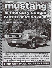 Find Ford Mustang piezas con libro 1965 1966 1967 1968 1969 1970 1971 1972 1973