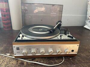 DUAL HS 39 1214 Vintage Plattenspieler Verstärker Auflösung Nachlass