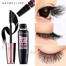New Maybelline Volum Express Hypercurl Waterproof Eyelas Women # Black (9.2 ml)