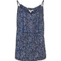 Fat Face - Women's - Naomi Batik Floral Cami - Blue - Size 6 - BNWT