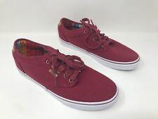 New! Men's Vans Era 59 Skateboard Shoes Maroon SZ 9.5 L15