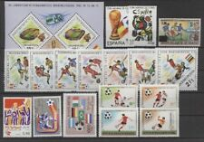 Fútbol-WM 1982, soccer-lot ** mnh