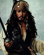 Johnny DEPP Signed Autograph 10x8 Pirates of the Caribbean Photo G AFTAL COA