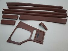 BMW 5 series e39, e39 M5 Brown Leather wrapped Interior Trim Set Individual set