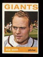 1964 Topps Baseball #328 Bob Shaw San Francisco Giants - SBID004