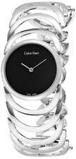 Calvin Klein K4G23121 Women's Analogue Quartz Watch Stainless Steel New in Box