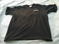 JACK DANIELS NO 7 T-Shirt L Black Heavyweight Used Graphic Front and Back