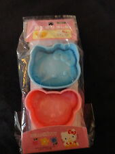 Sanrio Hello Kitty Musubi Sushi Riceball Mold Bear Blue Kitty