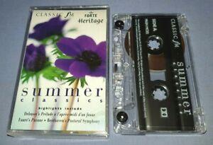SUMMER CLASSICS classical music cassette C0099
