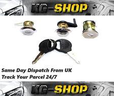 Barrel Lock Set , Door Lock Set & Trunk Lock for Peugeot 206