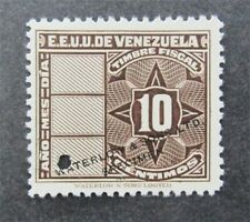 nystamps Venezuela Waterlow Color Proof Stamp MH NG Only 100 Exist.    U11y1252