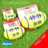 KONG Squeaker American Football Dog Toy - Air Tennis Ball Small Medium Large
