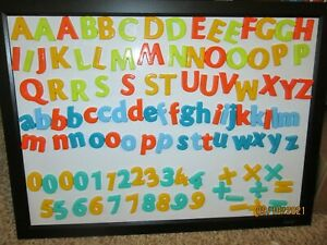 Crayola (Lot B) - Magnetic Letters & Numbers - Upper Case, Lower Case, Numbers