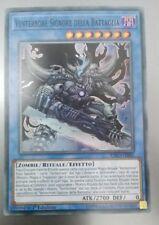 Venterrore Signore della Battaglia EXFO-IT082 Super Rara   MINT YUGIOH!
