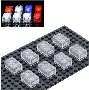 Light Up Building Block Bricks Dim Ability- Multicolor Building Accessories Toy