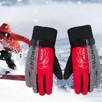 -30℉ Winter Ski Gloves Thermal Snowboard Snow Skiing Touchscreen Glove Men Women