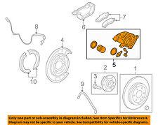 GM OEM Rear-Brake Disc Caliper 15855616