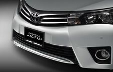 GENUINE TOYOTA ACCESSORY ALTIS 2014-2018 DECORATIVE CHROME FOR FRONT BUMPER
