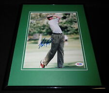 Brad Faxon Signed Framed 8x10 Photo PSA/DNA