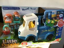 Fisher Price LITTLE PEOPLE Songs and Sounds CAMPER VAN Toy 1-5 years BRAND NEW