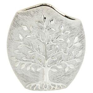 Tree of Life Modern Vase - Champagne Home Decor