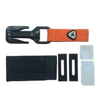 EZDIVE KF-SZ Portable Scuba Diving Cutter Two Sides Line Cutter With 2PCS Blades
