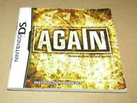 Again Interactive Crime Novel (Instruction Manual Only) for Nintendo DS