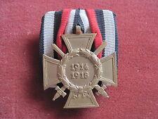 Ehrenkreuz für Frontkämpfer 1914-1918 auf Spange