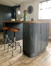 Retro Kitchen Stool/Bar Stool/Leather Stool/Breakfast Stool/Adjustable Stool
