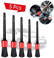 5*Auto Pinsel Detailing Brush Autopflege Bürste Autoreinigung Innen Aussen Neu