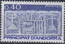 French Andorra #314 MNH CV$0.35 First Arms