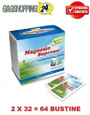 Magnesio Supremo 2 X 32 = 64 bustine Antistress Natural Point
