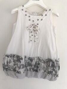 Monnalisa Chic Girls Dress USED Size 4