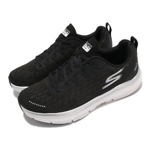 Skechers Go Run Ride 9 Black White Women Running Sports Shoes 172005-BKW