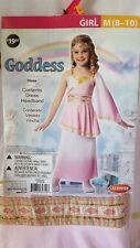 Goddess Costume Girl size M (8-10)