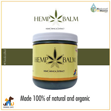 Hemp Balm with Arnica Extract 100% Natural and Organic - Natural de Mexico