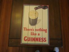 guinness 3d wood sign good nothing like a guinness