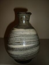 Phil Rogers Bottle Vase with Buncheong Brushwork   18/92