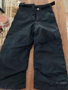 Columbia Boys XXS Black Snowpants