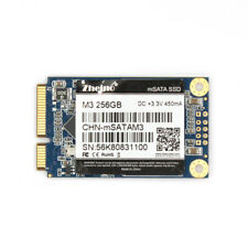 Zheino mSATA3 256GB SSD M3 Solid State Drive For Mini Pc and Ultrabooks 256GB