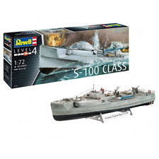 GERMAN FAST ATTACK CRAFT S-100 KIT 1:72 Revell Kit Navi Die Cast Modellino