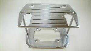 CNC Polished Aluminum Ball Milled Optima Group 35/75 Battery Tray Hot Rod
